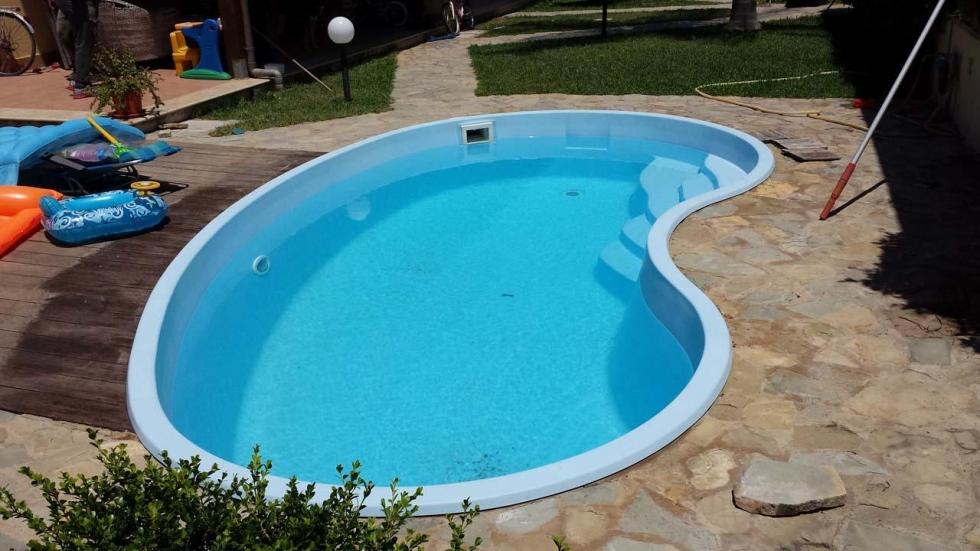 Piscina interrata vetroresina piscine in vetroresina fuori terra per designs with piscina - Piscina vetroresina usata ...