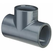 TI a 90° in PVC per incollaggio ( Da Ø 32 a Ø 75 ).-0