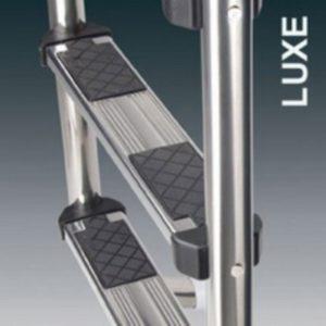 Scale con corrimano modello Standard da 3 - 4 - 5 gradino modello Luxe-0