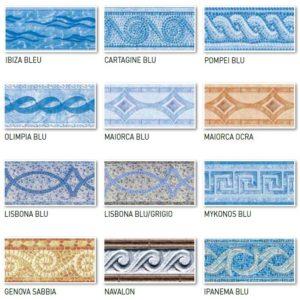 Bande decorative per Liner UNI.-0