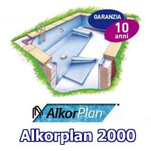 Rivestimento Liner Alkorplan 2000 in PVC.-0