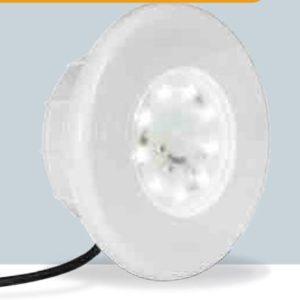 Faro Aqualuxe in ABS Eco Led luce bianca par 56 Ø 320 Per Piastrelle-0