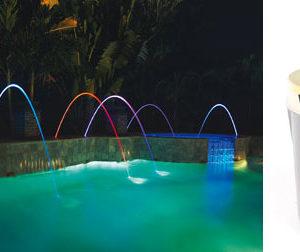 MagicStream Laminar - Zampillo con illuminazione incorporata.-0