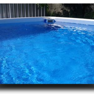 Piscina MARETTO Comfort h 125 - 2,5x4,5m - Colore Azzurro + KIT Piscina.-0