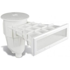 Skimmer Sfioratore in ABS per piscina in Pannelli / Cemento e rivestimento in PVC / Piastrelle.-0