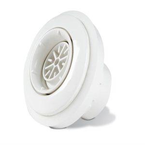 Bocchetta In ABS Con Diffusore a Sfera per Pannello o Cemento con rivestimento in PVC o Piastrelle.-0