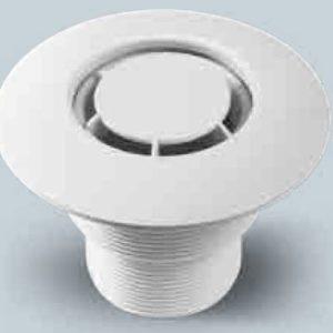 Bocchetta in ABS a Pavimento con Diffusore Radiale per Rivestimento in PVC.-0