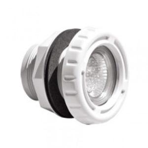 Mini Proiettore Led Bianco senza Nicchia,per Piscine in Panelli e Vetroresina .-0