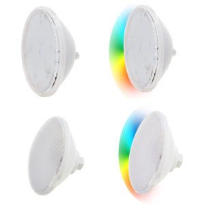 Lampade piscina per faro LED PAR56 con ottica piatta - Bianca/RGB.-0