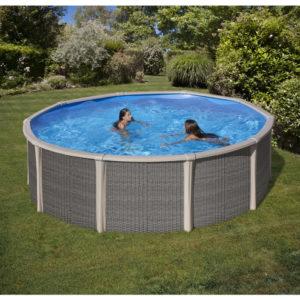 Piscina fuori terra Rotonda Fusion Pool Ø 460 cm H 135 cm.-0