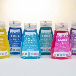 Colorante AQUAcouleur - colorante per piscina non permanente.-0